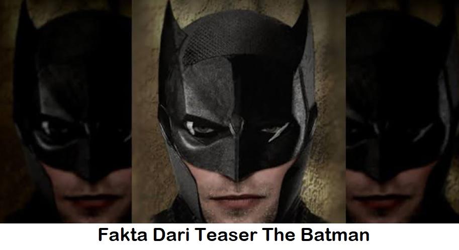 Fakta Menarik Dari Teaser The Batman