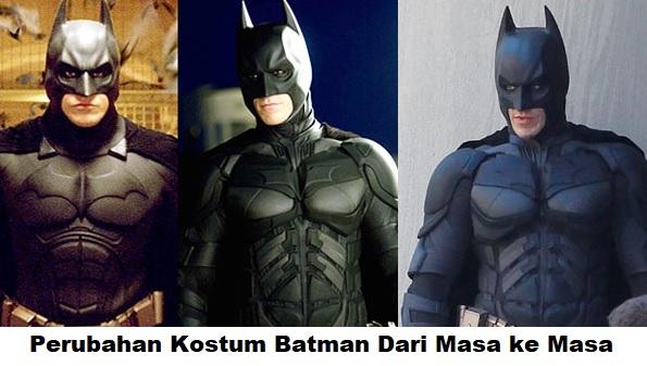 Evolusi Kostum Batman Sejak Tahun 40-an Hingga Sekarang